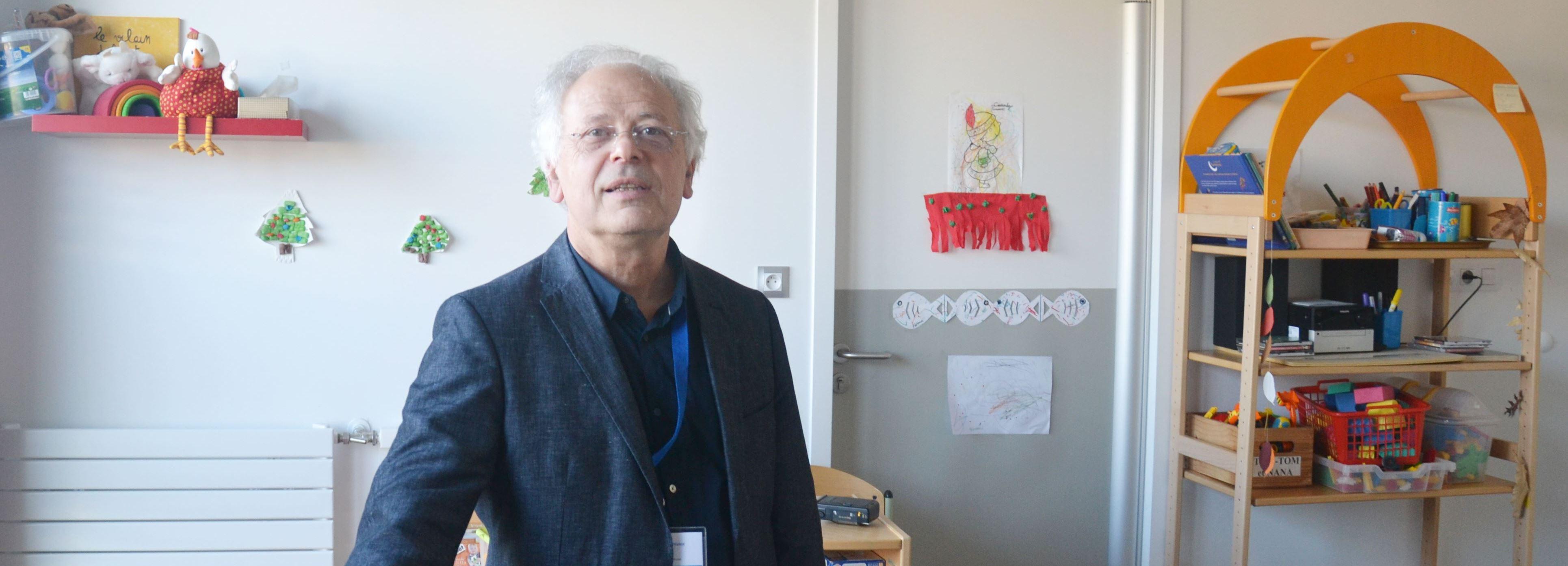 Le docteur Daniel Rousseau.